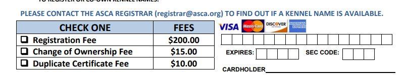 kennelname registrieren 800x150 - ASCA Kennelname registrieren