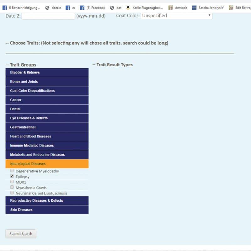 health database search epi 800x800 - ASHGI IDASH Anleitung - Wie trage ich meinen erkrankten Aussie ein?