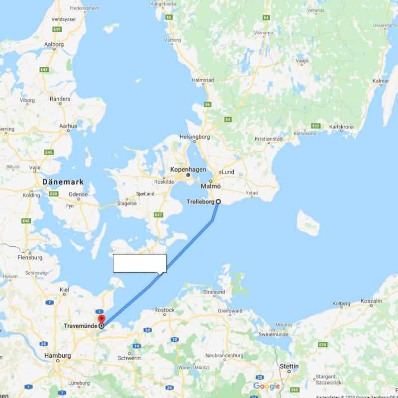 faehre 800x800 - Hund nach Schweden importieren