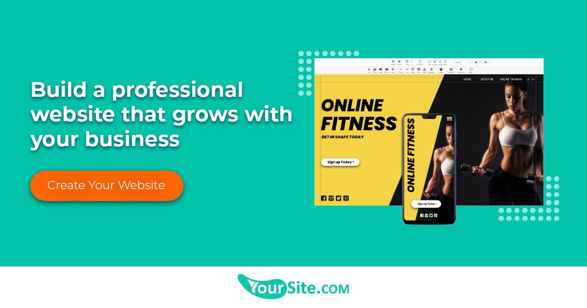 Best Website Builder Online | Yoursite